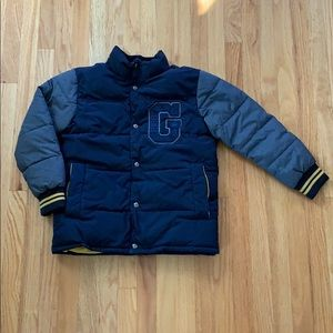 Boys Gap Downfilled Varsity Jacket